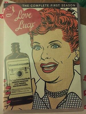 I Love Lucy - The Complete First Season DVD ~ Brand New & Sealed