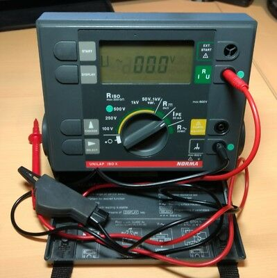 insulation tester, Norma Unilap ISO X.