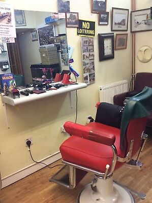 Wanted Barber, Hairdresser for Barber's Chair and Business For Sale