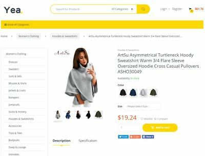I Will Build Automated Dropshipping Website Store With 50,000 Products