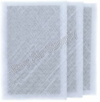 3 Pack RAYAIR SUPPLY 14x30 ARS Rescue Rooter Air Cleaner Replacement Filter Pads 14x30 Refills