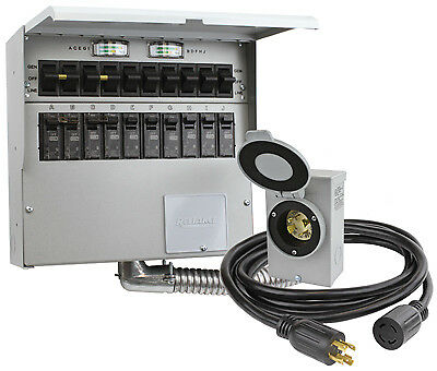 RELIANCE CONTROLS CORP 10-Circuit Transfer Switch Kit 310CRK