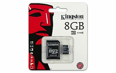 Class 4 Kingston 8GB Micro SD Flash Memory card for Nikon Olympus Camera