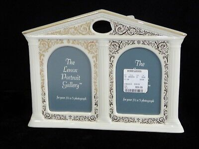 Lenox Portrait Gallery Double 3x5 Gothic Picture Frame - NWT