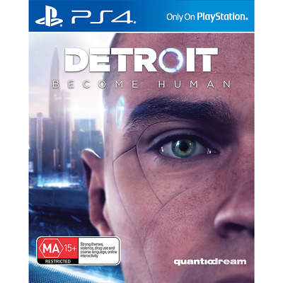 Detroit: Become Human - PlayStation 4 - BRAND NEW