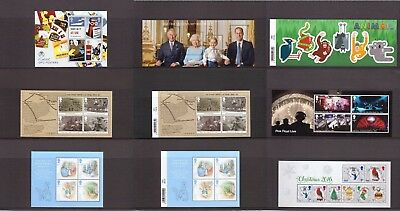 2016 Miniature Sheet Issues of Great Britain Mint NH sold separately