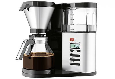 Melitta Aroma Elegance Deluxe, 1012-03, Filter Coffee Machine with Glass Jug,...