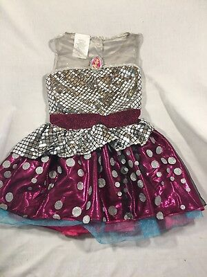 Toddler Barbie Halloween Costume Size Small 4-6
