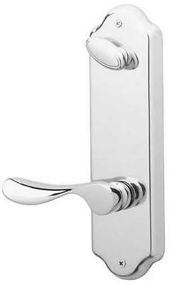 Schlage Handleset Interior Champagne/Florance, (Right) Pewter FA359 CHP 620 FLO