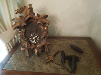 Black Forrest Wall cuckoo clock, Vintage Germany