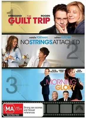 The Guilt Trip / No Strings Attached / Morning Glory, DVD