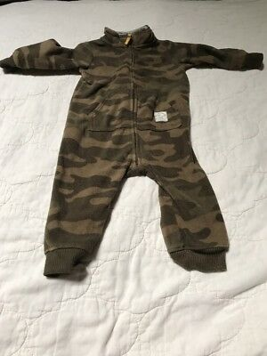 Baby Boy 9M Winter Camo Bodysuit