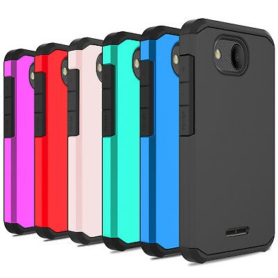 For Alcatel Tetra 6753B/5041C Case Shockproof Slim Rugged Hard Armor Phone Cover