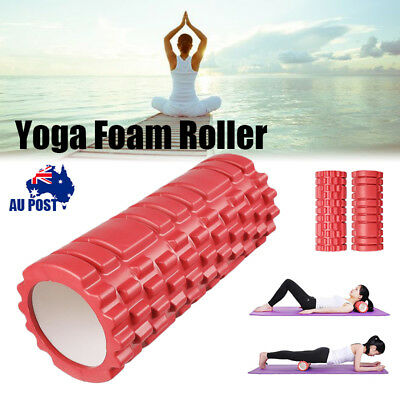 Yoga Foam Roller Grid Trigger Deep Tissue Point Massage Pilates Physio Exercise
