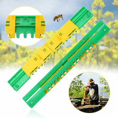 1* Bee Hive Sliding Mouse Guards Travel Gate Beekeeping Equipments Breeding Tool