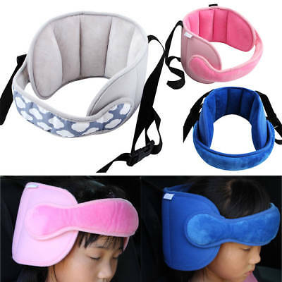 Kids Head Support Stroller Buggy Pram Car Seat Belt Sleep Safety Strap Band