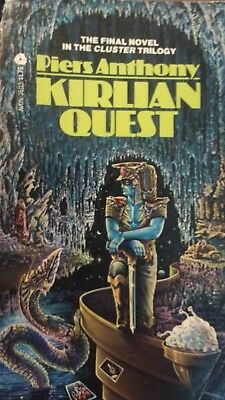 Vintage 1978 Avon Science Fiction Paperback - KIRLIAN QUEST by Piers Anthony