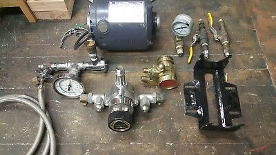 EMERSON 1/3 HP CARBONATOR MOTOR WITH PROCON PUMP, USED - Extras - Gauges