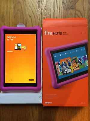 "All-New Amazon Fire HD 10 Kids Edition Tablet, 10.1"" 1080p FHD Display, 32 GB"