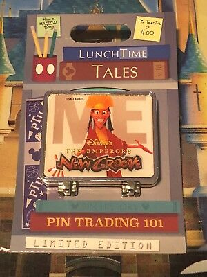 Disney Pin of the Month Lunch Time Tales Emperors New Groove Kuzco LE1500