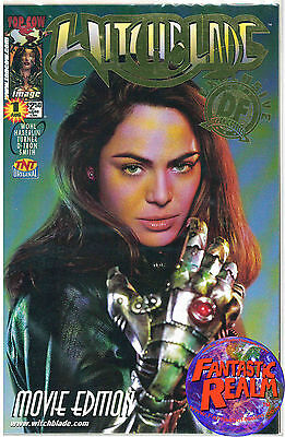 Witchblade #1 Movie Edition Dynamic Forces Gold Foil Top Cow Comics