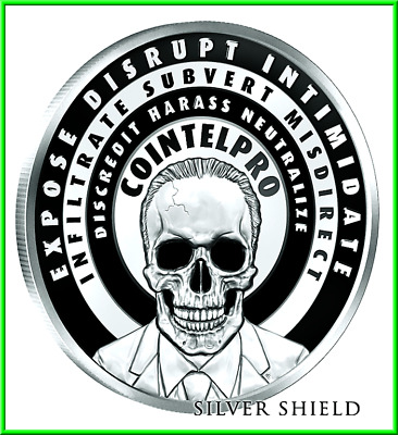 2019 1oz FBI Silver Shield Group SSG InfoIndCom Series #8 MiniMintage *PRESALE*