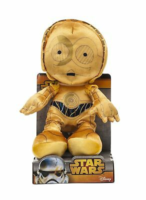 Star Wars Joy Toy 1400619 25 cm C3-PO Velboa Velvet Plush Toy in Display Box