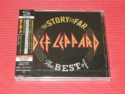 2018 JAPAN ONLY 2 SHM CD DEF LEPPARD The Story So Far… The Best Of Def Leppard