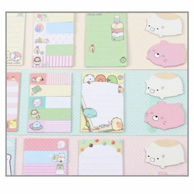 Cute Animal 4Folding Memo Pad Sticky Notes Memo Note Gift Stationery