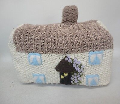 Knitted Cottage Shape Toaster Cover Knitting Needles of Gwendoline Aspinall B2