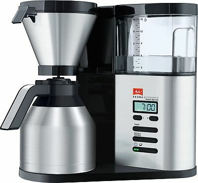 Melitta Aroma Elegance Therm DeLuxe, 1012-06, Filter Coffee Machine with Insu...