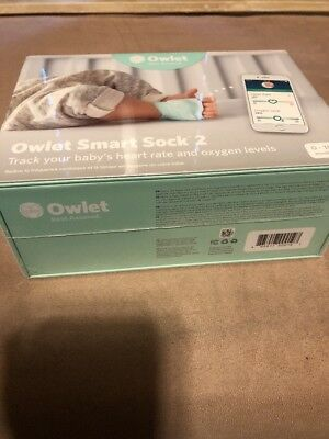 Owlet Smart Sock 2 Baby Monitor Brand New In Box