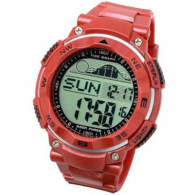 [LAD WEATHER] Tide graph watch Moon phase High & Low tide Pacer Fishing Surfing