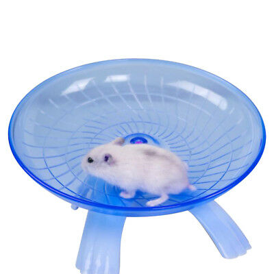 Small Pet Plastic Running Wheel Exercise Spinner Hamster Mice Mouse Activity Toy