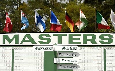 2019 Masters Golf Tickets/badges~Thursday Friday, Saturday Sunday~1 2 3 4 5 6 7
