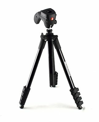 "Manfrotto - Compact Action 61"" Tripod - Black- 854JK"