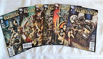 Warlord (2009 series) #1,2,3,4,5,6  DC Enter the lost world of the Warlord