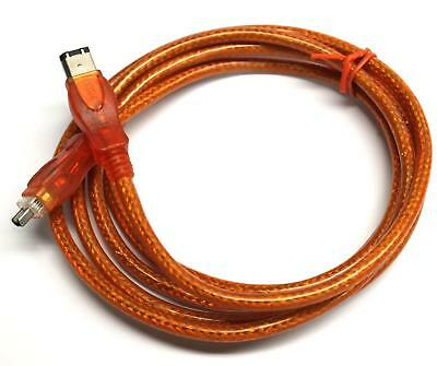 Firewire 400 6 to 4 Pin Cable IEEE-1394A DV-Link Wire Cord for Digital Camcorder