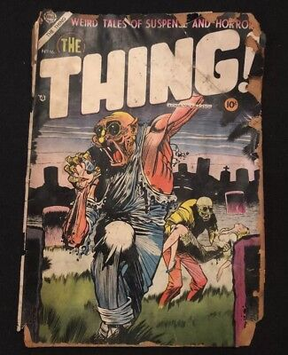 The Thing #16 Charlton 1954 Low Grade
