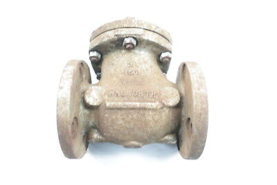 Walworth 96C95A Swing Gate 150 Steel Flanged 3in Check Valve