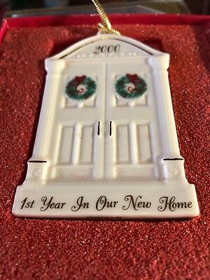Lenox Ornament First Year in Our New Home 2000