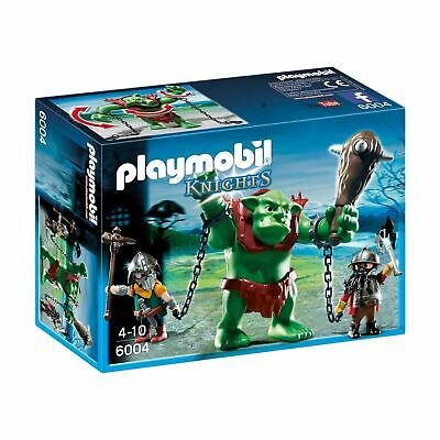 Playmobil Knights 6004 Giant Troll with Dwarf Fighters Figures Set