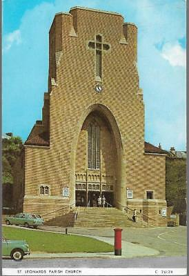 St. Leonards on Sea, E Sussex - Parish Church - Judges postcard c.1970s
