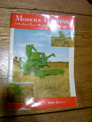 Vintage John Deere Advertising Brochure-# 40 - 80 Tractors & Implements- 1956