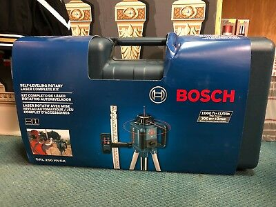 Bosch 1,000-ft Beam Self Leveling Rotary Laser Level full kit - 7802