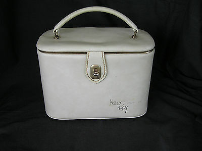 Vintage MARY KAY Cosmetics Makeup Bag Carry Case