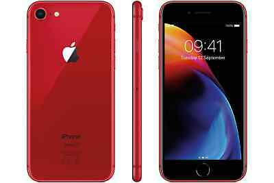 Apple iPhone 8 64GB (PRODUCT)RED UNLOCKED 'Excellent Condition' Apple Warranty