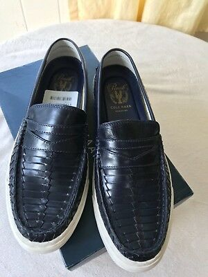 4e3eb50b1bb87 COLE HAAN PINCH WEEKENDER ROAD TRIP MEN S PENNY LOAFER Blue Size ...