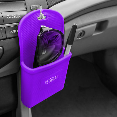 Silicone Travel phone Holder Smartphone iPhone Galaxy Note Holder Purple Auto