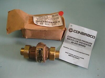 "3/4"" Apollo Conbraco 40-4H4-4HM Pressure Backflow Preventer NEW L13 (2416)"